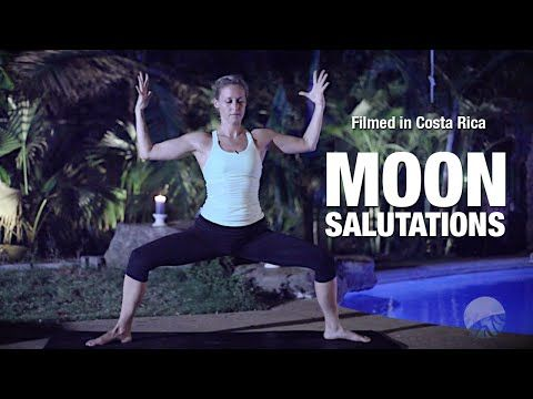 Natalie Rousseau walks us through a slow, grounding Chandra Namaskar perfect for lunar cycle appreciation or calming energy any time. One 15-minute cycle to repeat as you feel the need to.