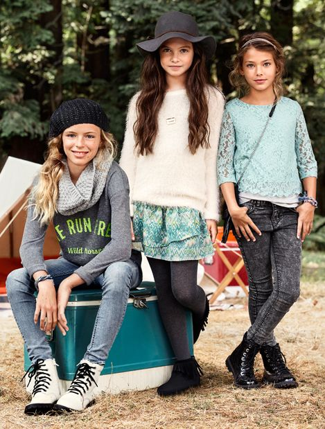 Tween boho style! Tween Girls fashion