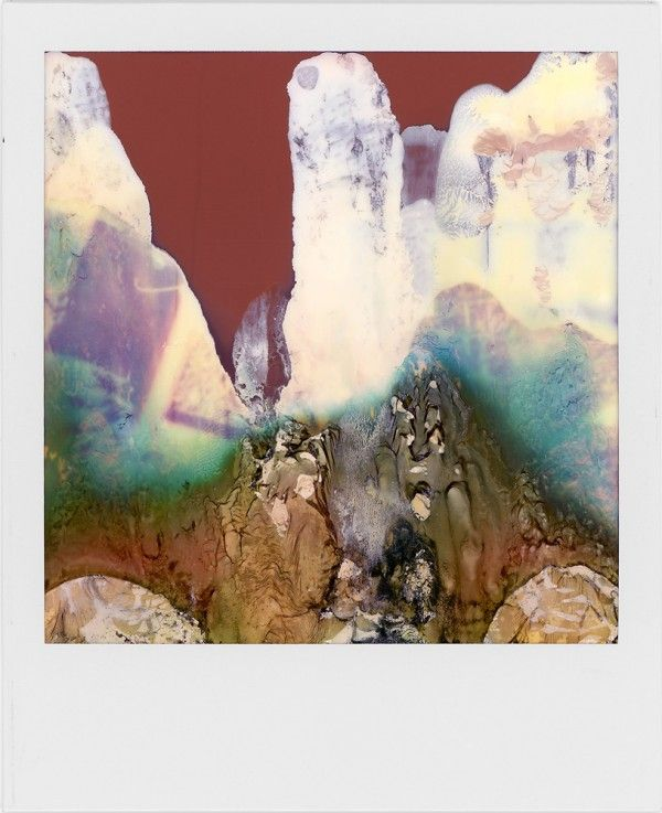 With his Polaroid SX-70 (a used camera he picked up at a yard sale), William Miller churns out not photos, but amazingly abstract works of art.