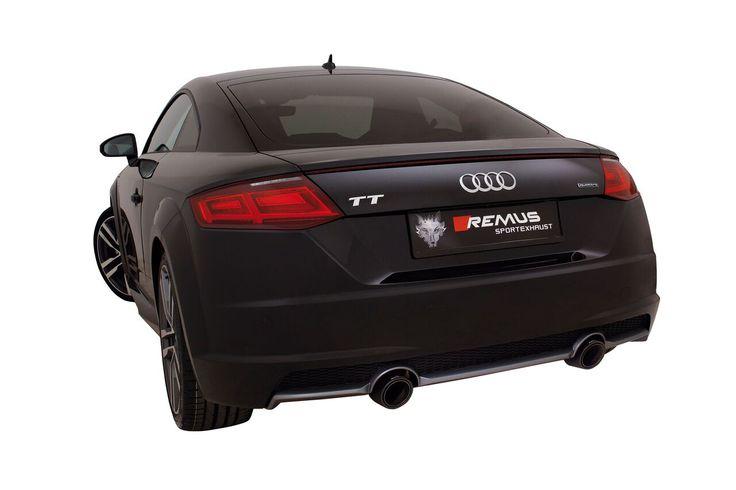 Powerizer REMUS INNOVATION dla nowego Audi TT 2.0 TFSI.  Dzięki sile Wilka, moc silnika Audi wzrasta aż o 33 KM a moment obrotowy o 50Nm. Tym samym do dyspozycji kierowca ma 263 KM oraz 420 Nm. Wszystko to niezwykle szybko i bezpiecznie!  Sprawdź w Remus Polska http://www.remus-polska.pl/