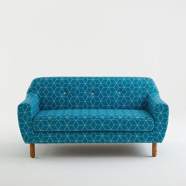 Canapé fixe, 2 pl. Clém