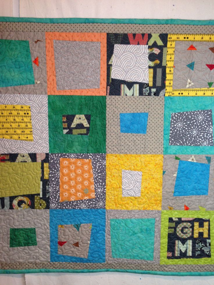 Baby quilt gifted to Ezra of Squamish