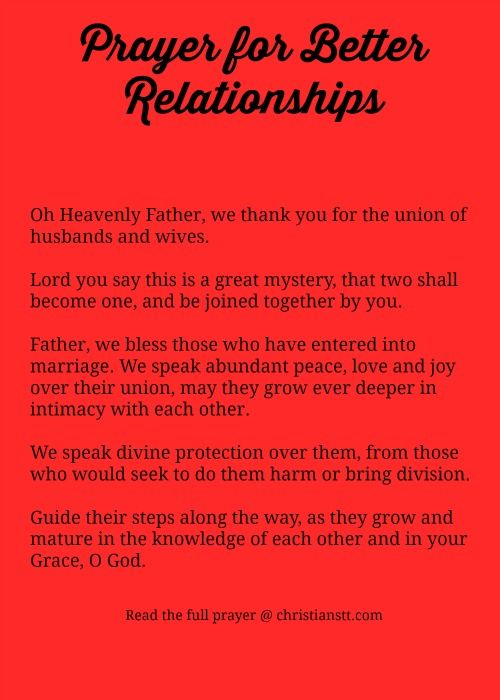 Prayer to Heal a Relationship - Prayers - Catholic Online