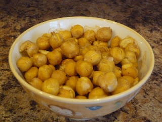 Cheezy Roasted Chick Peas | Nom | Pinterest