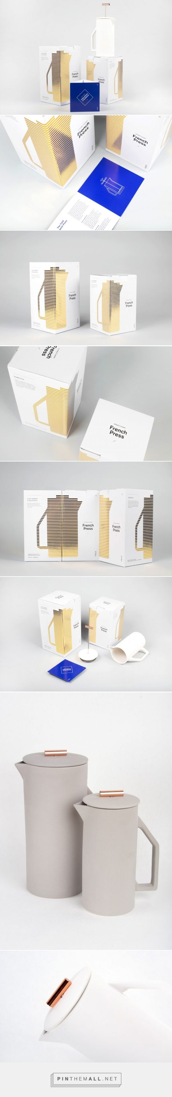 YIELD French Press Packaging of the World - Creative Package Design Gallery - http://www.packagingoftheworld.com/2016/01/yield-french-press.html