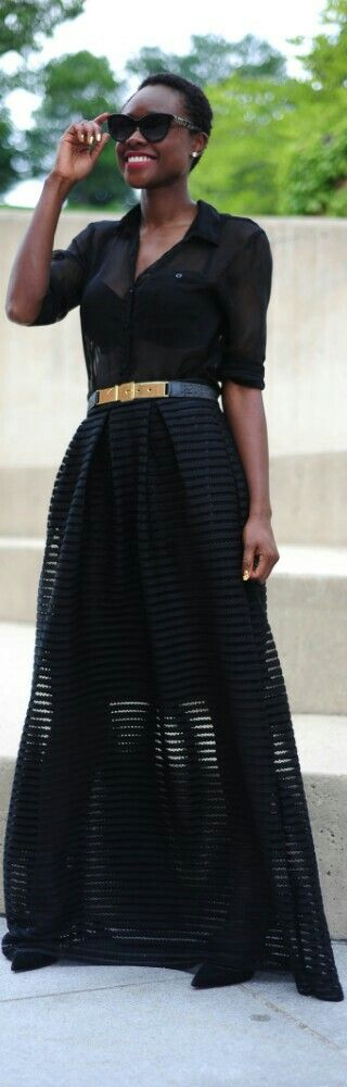 ChicWish Skirt / Fashion by Skinny Hipster