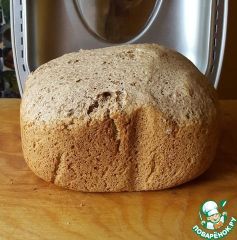 Ржаной хлеб на кефире ингредиенты