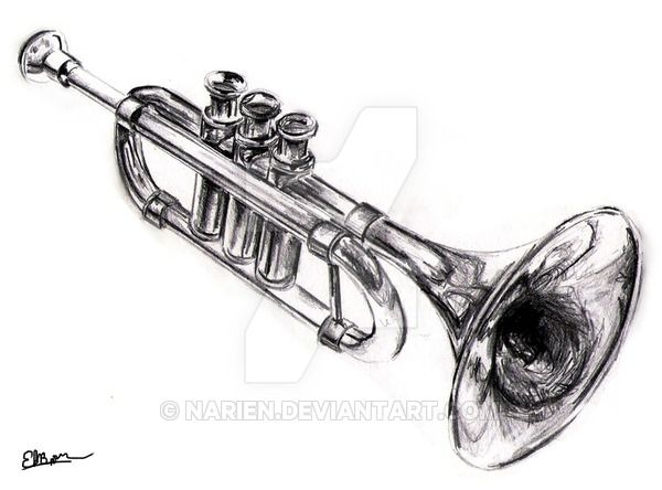 The guitar tattoo by NunoDias has inspired this trumpet. Later, I did a logo for a Jazz association changing a lot, but it was fun to do it... Did a remake: eqvis.deviantart.com/art/Trump…
