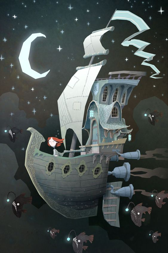 """imagination! """"FLY BY NIGHT"""" KEN WONG"""