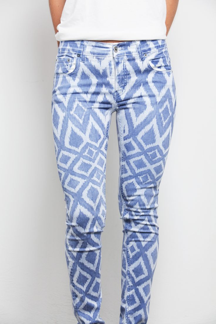 Rhombus blue style! Zaitex experience °°°