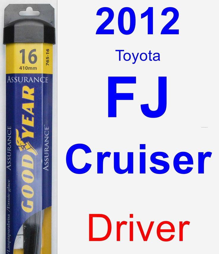 driver wiper blade for 2012 toyota fj cruiser assurance products toyota and toyota fj cruiser. Black Bedroom Furniture Sets. Home Design Ideas
