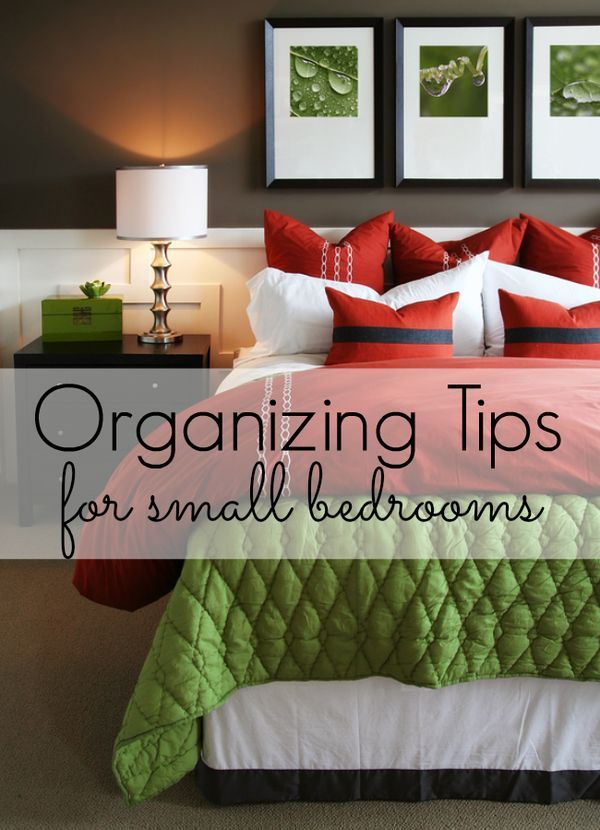 If you have a small bedroom, you know how tough it can be to keep it organized. I'm sharing the best organizing tips to help you get your small bedroom organized and looking great!