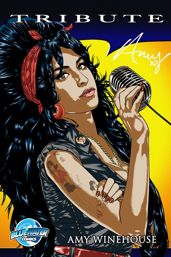"Tribute: Amy Winehouse - COVER A: coming in July! Amy Winehouse, the newest member of the ""27 club,"" musicians at the height of their career who have lost their life at 27 years old, lived a hard and fast life. Her story, illustrated on her body in the form of tattoos, tells the tell of a talent flaming out long before her time."