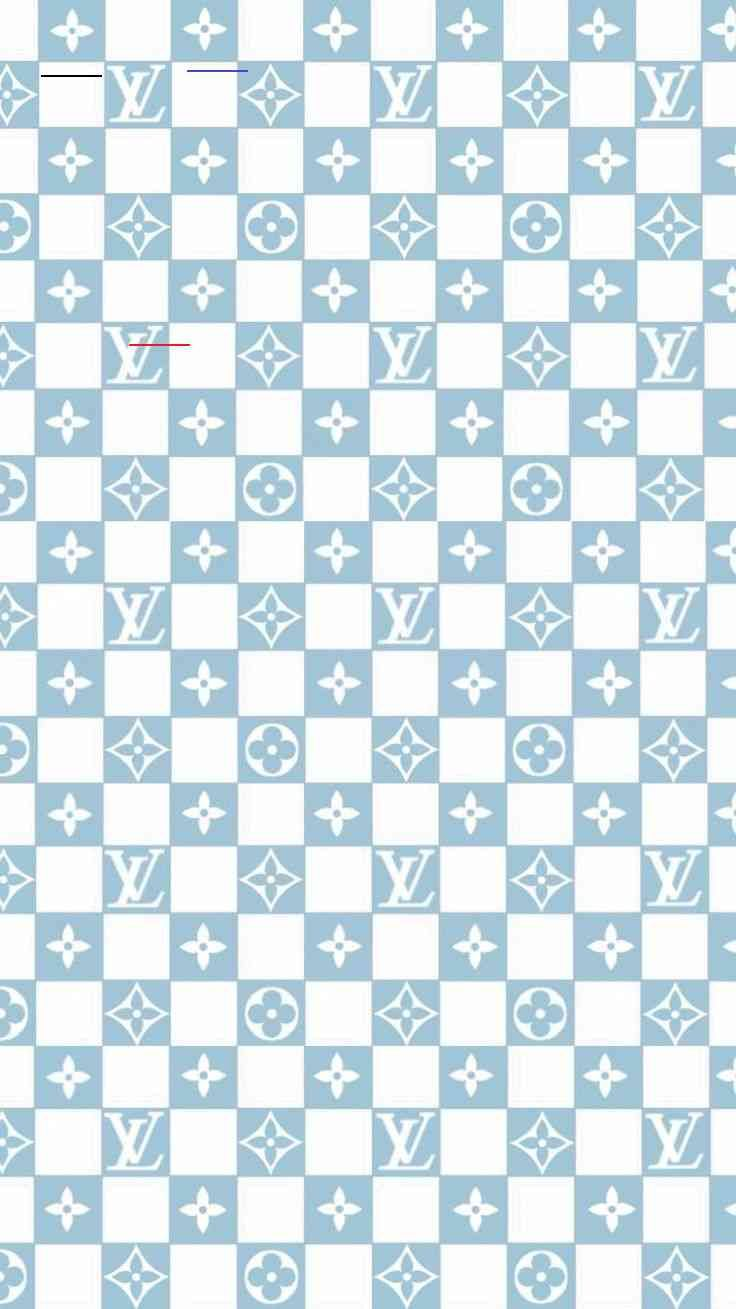 Louis Vuitton Baby Blue Checkered Vans Wallpaper Br In 2020