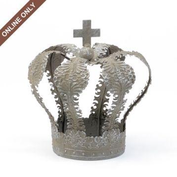 Gray Hanging Metal Crown