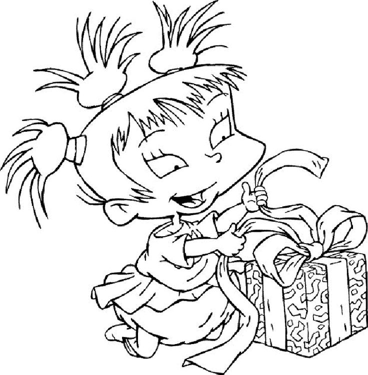 angelica rugrats coloring pages - photo#34