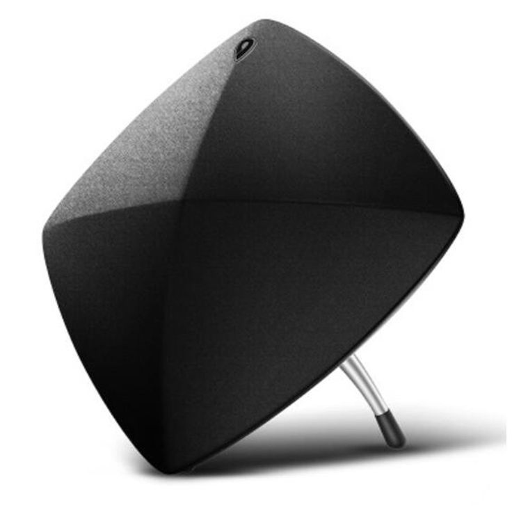 399.00$  Watch now  - WIFI HIFI fm subwoofer diamond shape design exquisite novely 27w speaker with cinema level realistic surround sound
