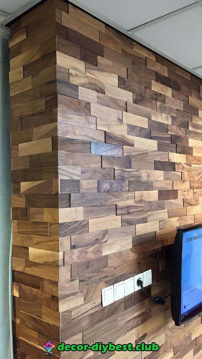 Pin By Maha Al Monayar On House Design In 2020 Wood Wall Design