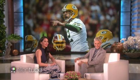 Olivia Munn Planted Aaron Rodgers Engagement Rumor? -- It now seems pretty clear that Olivia Munn was the one responsible for planting the rumor that she and Green Bay Packers quarterback Aaron Rodgers got engaged.