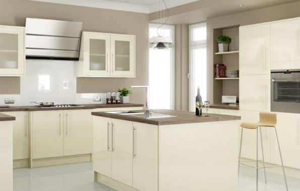 11 Best Images About Cream Gloss Kitchen On Pinterest