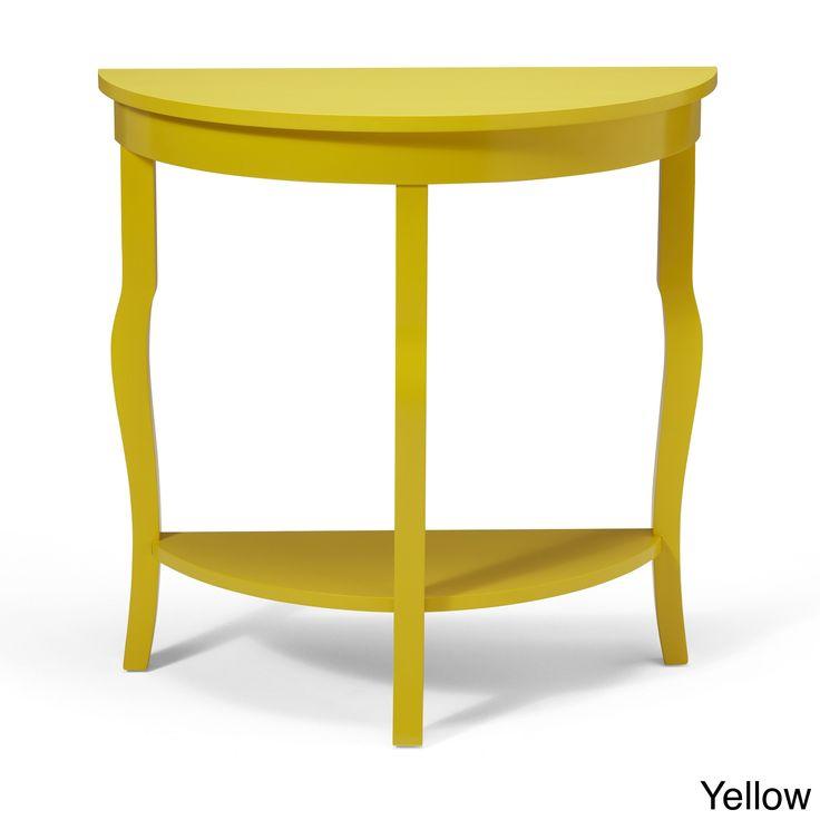 best 25 half moon console table ideas only on pinterest half moon table grey hallway. Black Bedroom Furniture Sets. Home Design Ideas