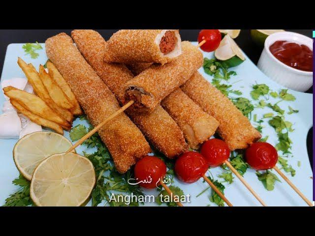 يلا بينا نعمل افتكاسه جميله تعجب الاولاد بالسجق Angham Talaat Food Vegetables Carrots