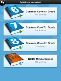 Free App for Middle School Math (Sounds similar to iXL)