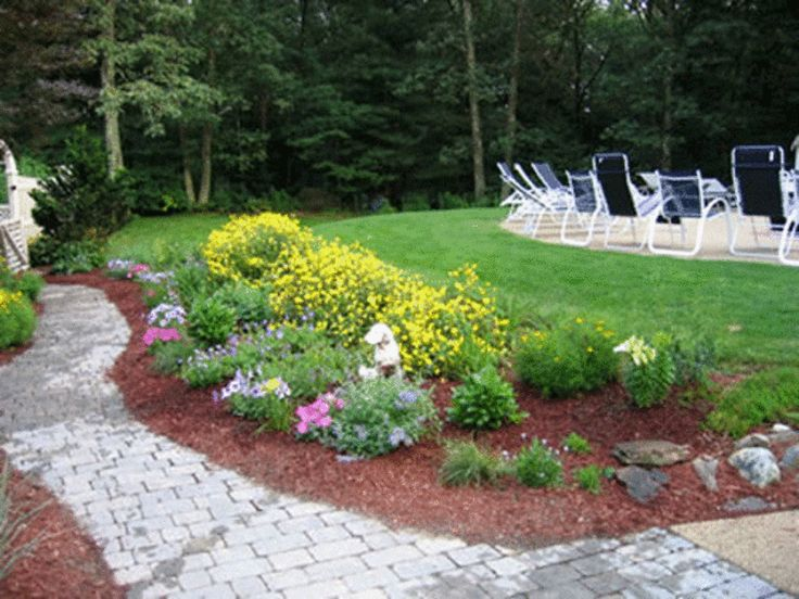 Flower Garden Ideas For Small Yards find this pin and more on garden Small Back Yard Flower Garden Ideas