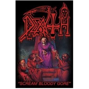 Death Scream Bloody Gore poster flag