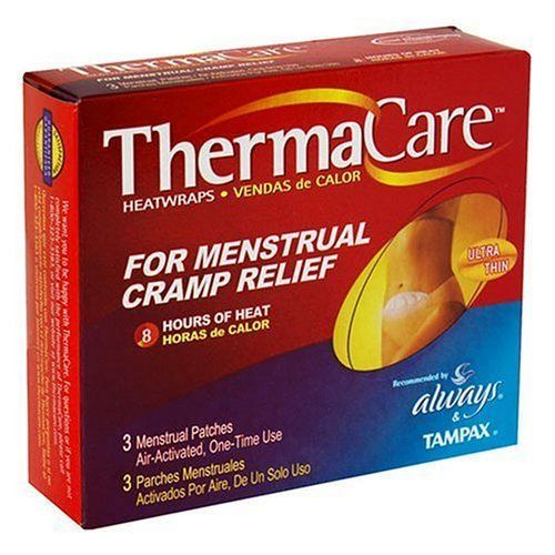 ThermaCare AirActivated Menstrual HeatPatches 3Count Boxes Pack of 3 ** Click image for more details.