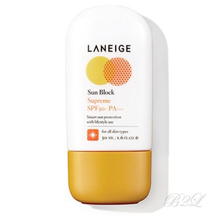 [LANEIGE] Light Sun Fluid SPF50+ PA+++ 50ml / Sunblock, Screen by Amore Pacific #LANEIGE