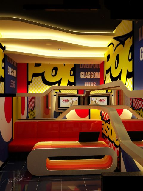 Karaoke Room Pop Art Concept Pop Art Decor Pop Art