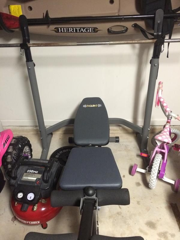 Body Champ Olympic Weight Bench For Gym Home