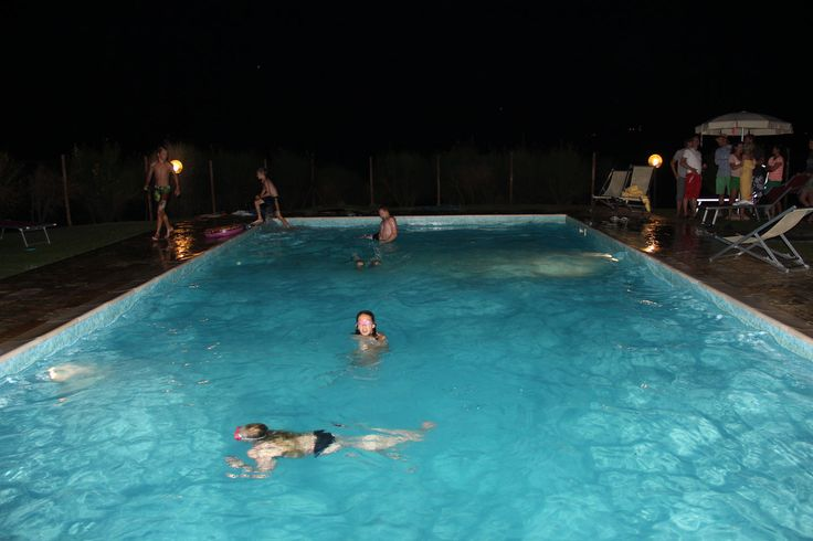 From the Guest - The pool area at the farmhouse in the Tuscan countryside around Chianni, in the Pisa's area.