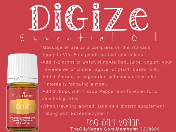 How to use DiGize Essential Oil. TheOilyVegan.com  Member #: 3268989