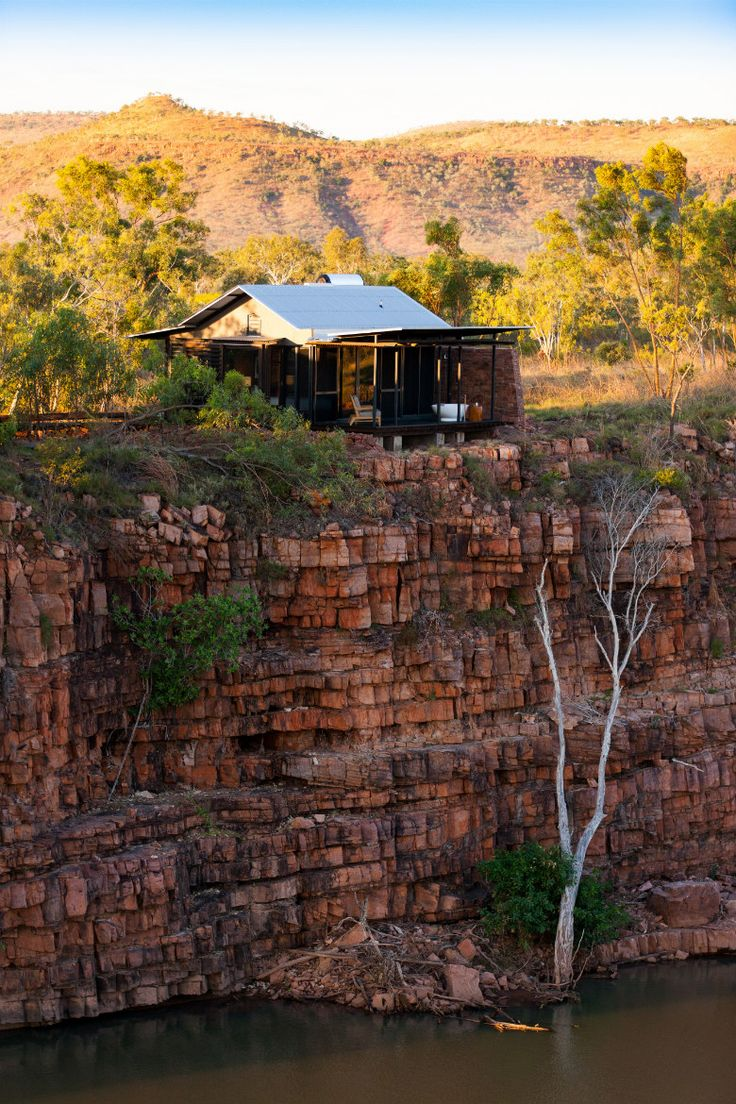 Luxury in outback Australia.