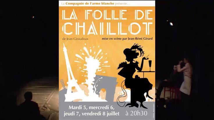 La Folle de Chaillot de Jean Giraudoux. Mise en scène par JR Girard.