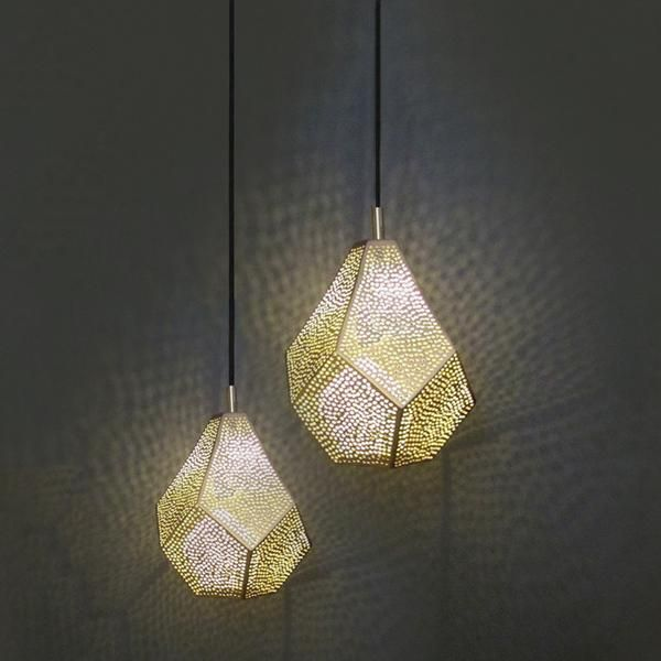 luxurious lighting. founder and designer of dounia home tamriloeper captures a slice moroccan culture design with her luxurious lighting