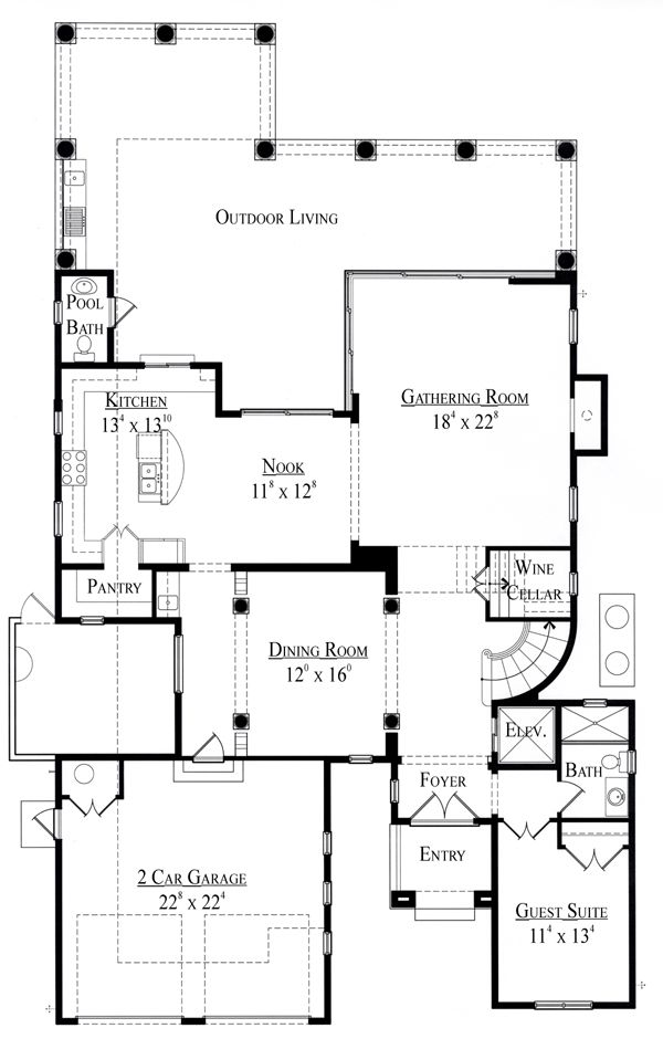 18 best images about floor plans on pinterest 2nd floor for Miami house plans