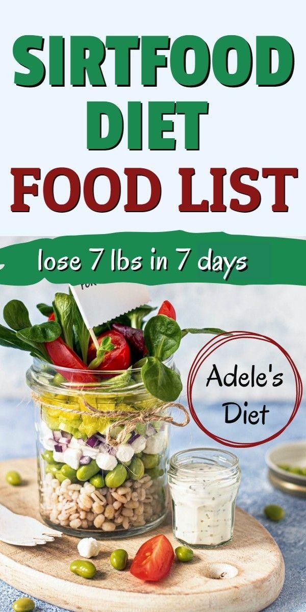 Adele S Diet Sirtfood Diet Food List In 2020 Adele Diet Diet Food List Diet And Nutrition