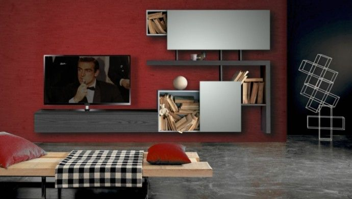 die besten 25 fernsehwand ideen auf pinterest tv. Black Bedroom Furniture Sets. Home Design Ideas