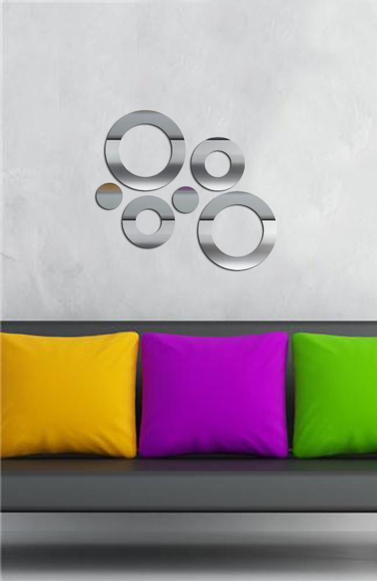 Özgül Grup  Dekoratif Kırılmaz Ayna : 24,90 TL | evmanya.com  Retro
