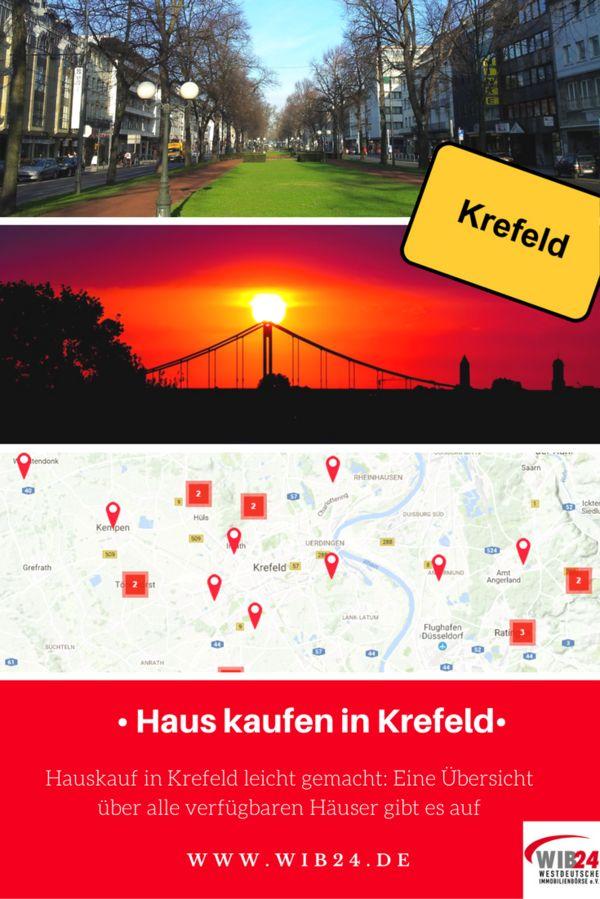 Haus kaufen in Krefeld - viele Immobilienangebote gibt es bei der WIB24