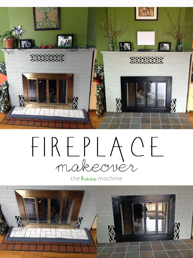 Fireplace Design refacing a fireplace : 41 best images about Fireplace refacing on Pinterest