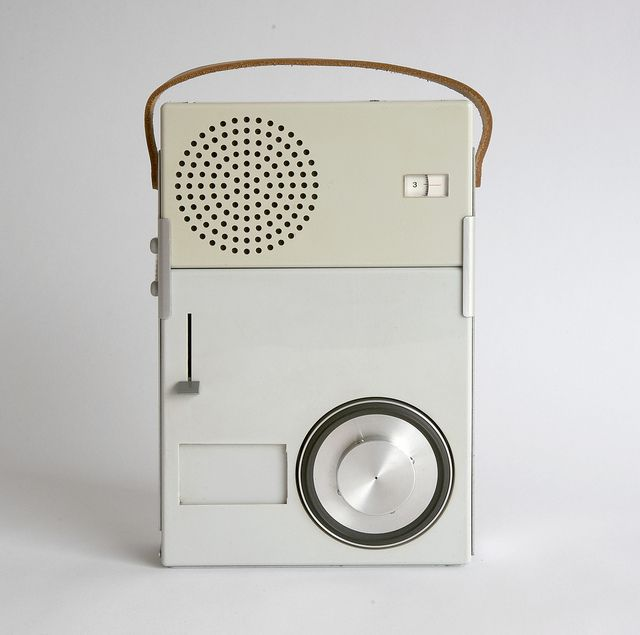 1959 Portable Transistor Radio and Phonograph (model TP 1) (MOMA Collection)…