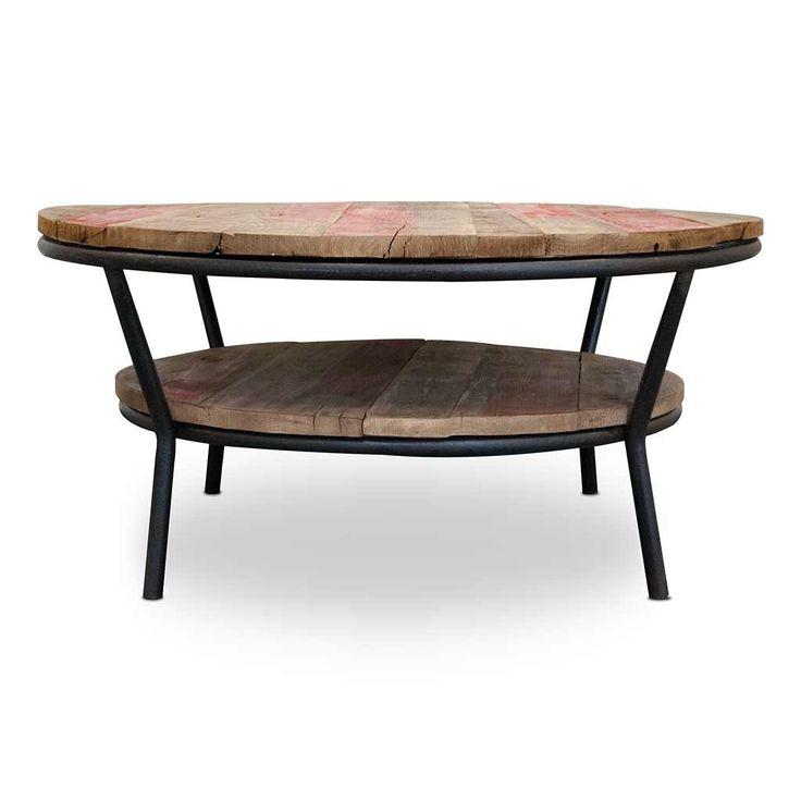 Urban Home Elliot Round Coffee Table