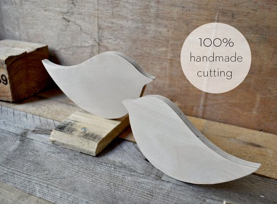 The bird is the ultimate feeling of freedom.. Υou can decorate your table at home or table of your wedding!  Feel free to tell us what you want to cut it for you in any size, thickness and shape you want!