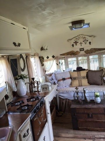 Camper Design Ideas this retro rustic camper just might be the cutest motel in texas Best 20 Camper Interior Design Ideas On Pinterest Camper Interior Camper Van And Campervan Interior