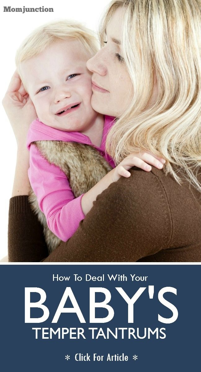 Baby Temper Tantrums: As this article will give you eight handy tips to deal with your baby's temper tantrums! Want to know more? Read on! #Parenting