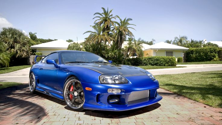 1996 #Toyota Supra Twin Turbo. Hot #Cars!